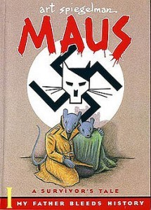 Maus Book cover, as shown on Wikipedia.org